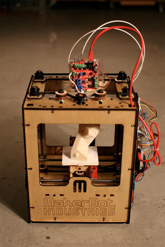 Image of the MakerBot Cupcake CNC