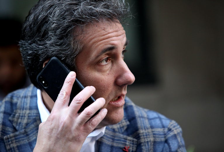 FBI Sought to Use Michael Cohen's Fingerprints and Face to Unlock Apple Devices