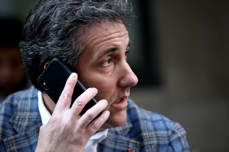 Investigators requested a warrant to use Face and Touch ID to access Cohen's Apple devices.