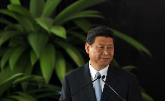 Chinese President Xi Jinping speaks during a press conference at the presidential house in San Jose, Calif., on June 3, 2013.