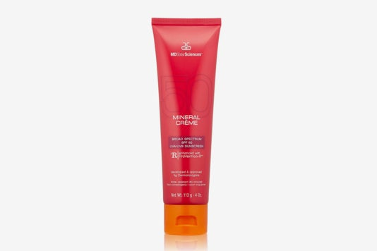 MDSolarSciences Mineral Crème Broad Spectrum SPF 50 Sunscreen.