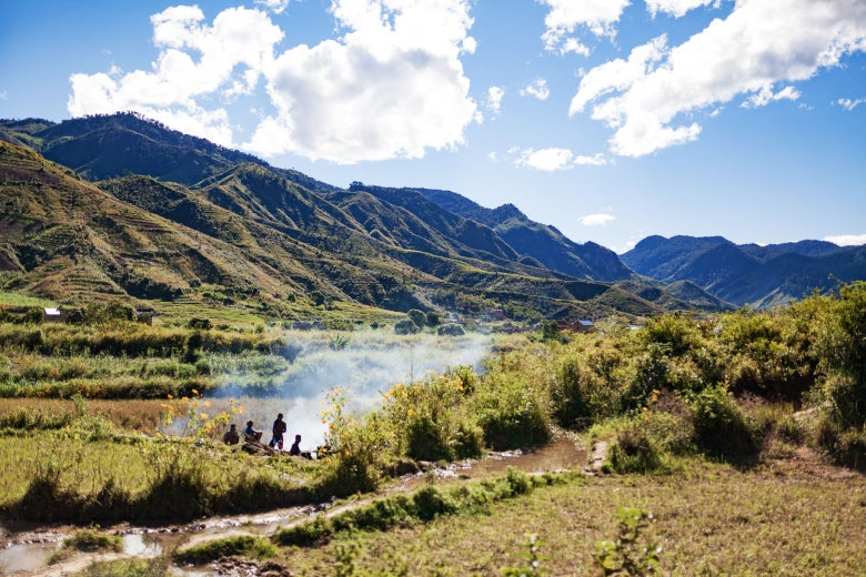 Isolation perpetuates tradition in these hidden valleys. Here, the labor of Madagascar's   moonshine pass unchanged between generations.