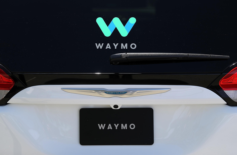 A Waymo car.