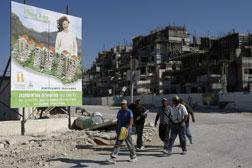 A new housing project in the Jewish settlement of Maale Adumim.