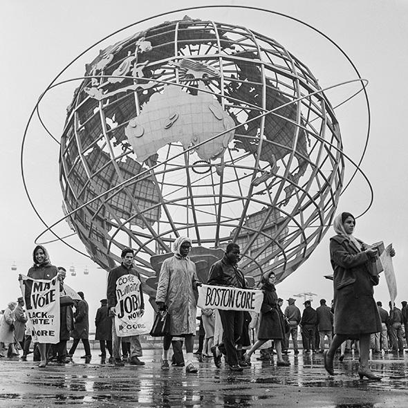 CORE march at 1964 World's Fair