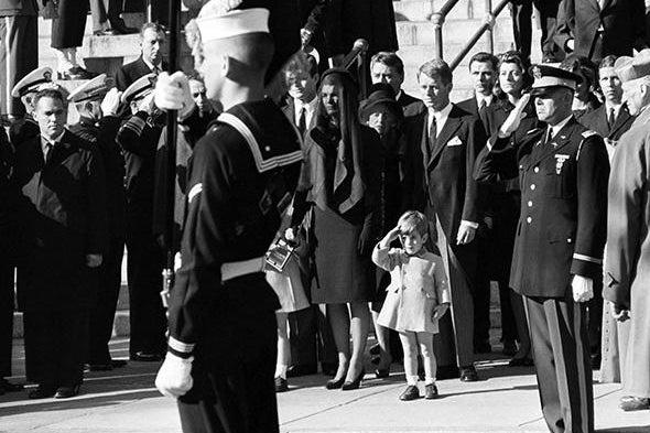 JFK's funeral.