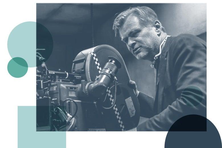 Christopher Nolan behind the camera.
