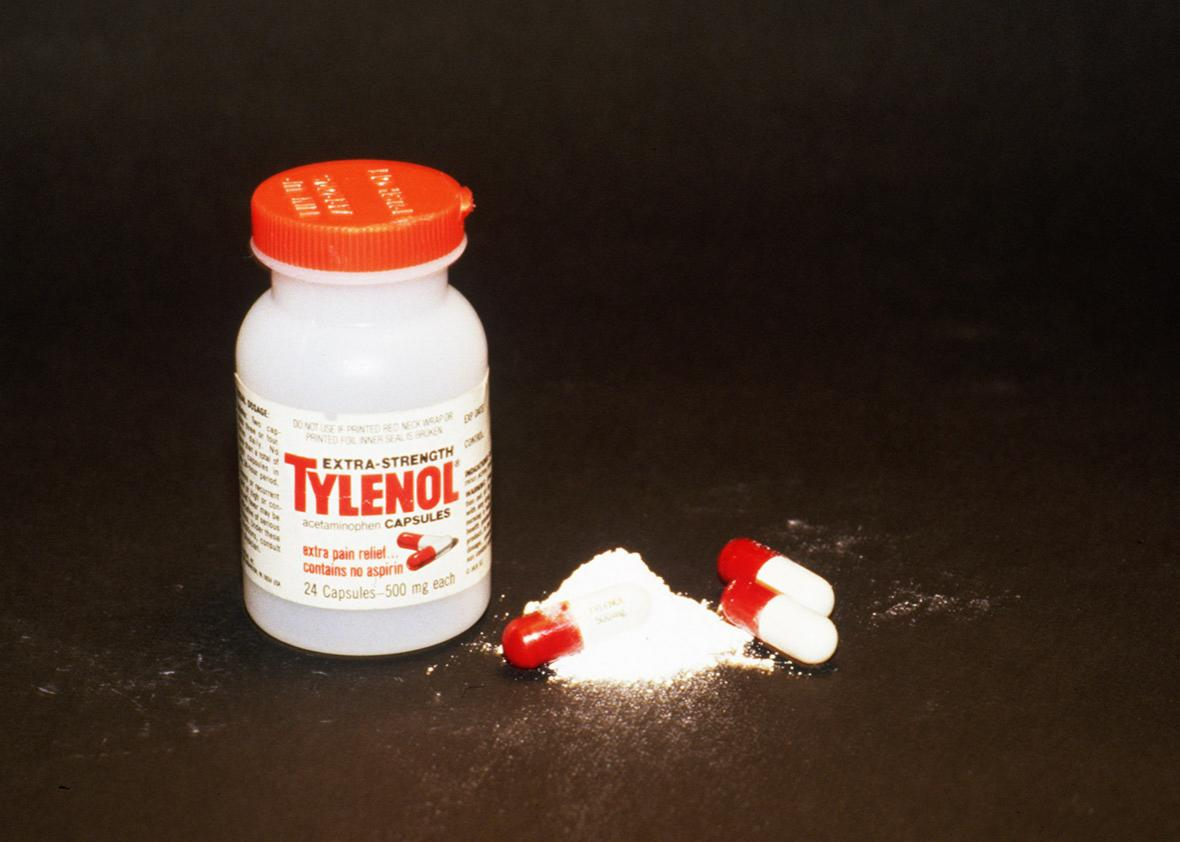 Tylenol, a brand of painkiller regularly used in the United States of America, is found to be responsible for the death of four people in two days.