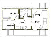 First floor plan         Click on image to expand.