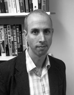 Author Aaron Lecklider.