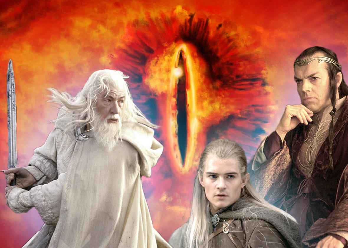 Ian McKellen in The Lord of the Rings: The Return of the King, a