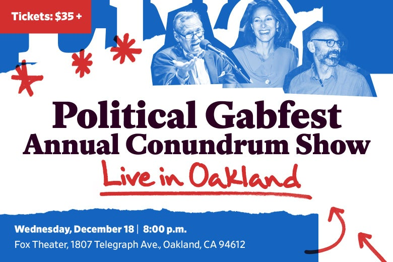 PGF in Oakland Conundrum show