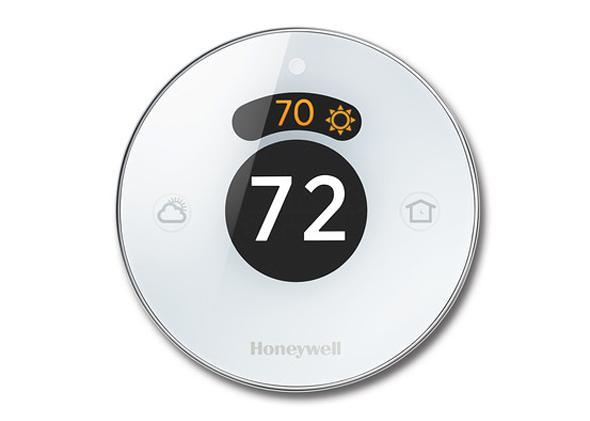 Honeywell's Lyric smart thermostat rivals Google's Nest.