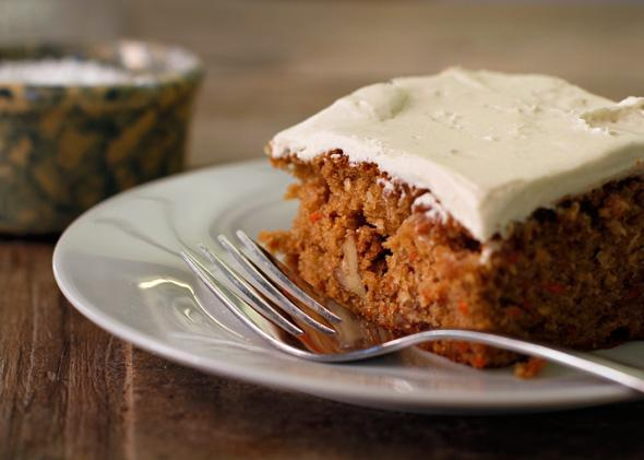 Carrot cake: Should it have raisins? Walnuts? Coconut? The answers