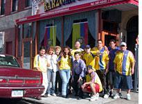 Ecuadorian World Cup fans