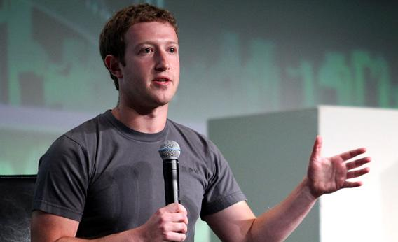 Facebook CEO Mark Zuckerberg speaks to the TechCrunch Disrupt SF 2012 conference
