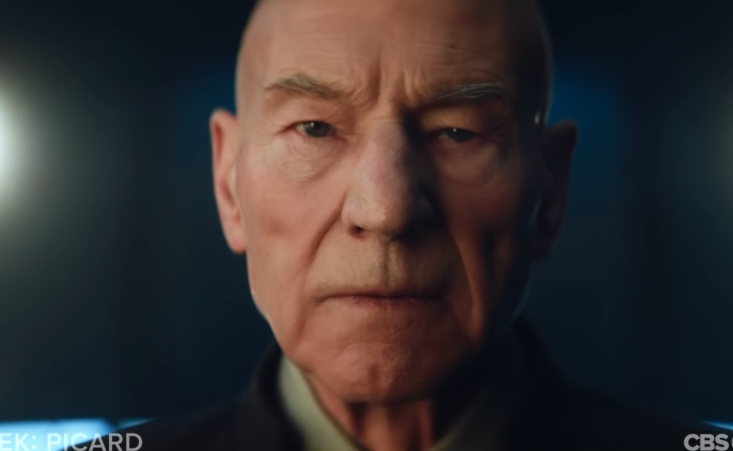 The Trailer for the Next Star Trek Show Is Mostly Just Picard Chilling in a Vineyard