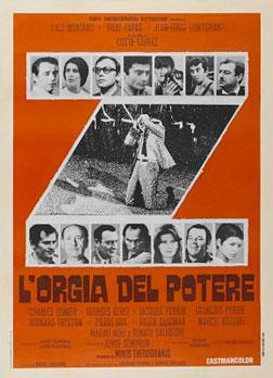 Z movie poster.