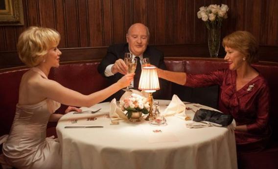 Anthony Hopkins, Helen Mirren and Scarlett Johansson in Hitchcock.