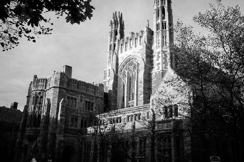Yale Law School's Sterling Law Building.
