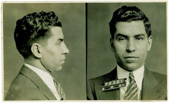 Lucky Luciano, Dutch Schultz: Look at these incredible ...