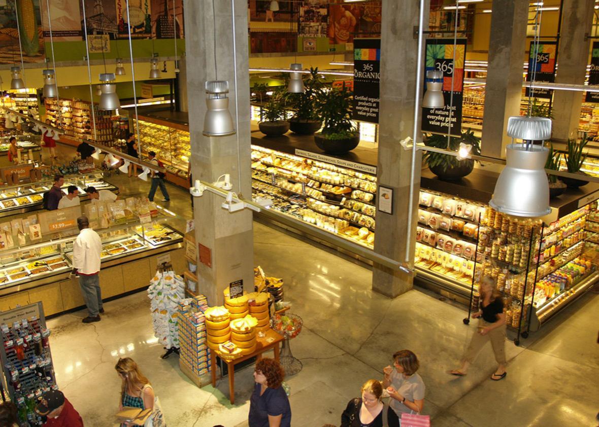 Whole Foods East Houston.
