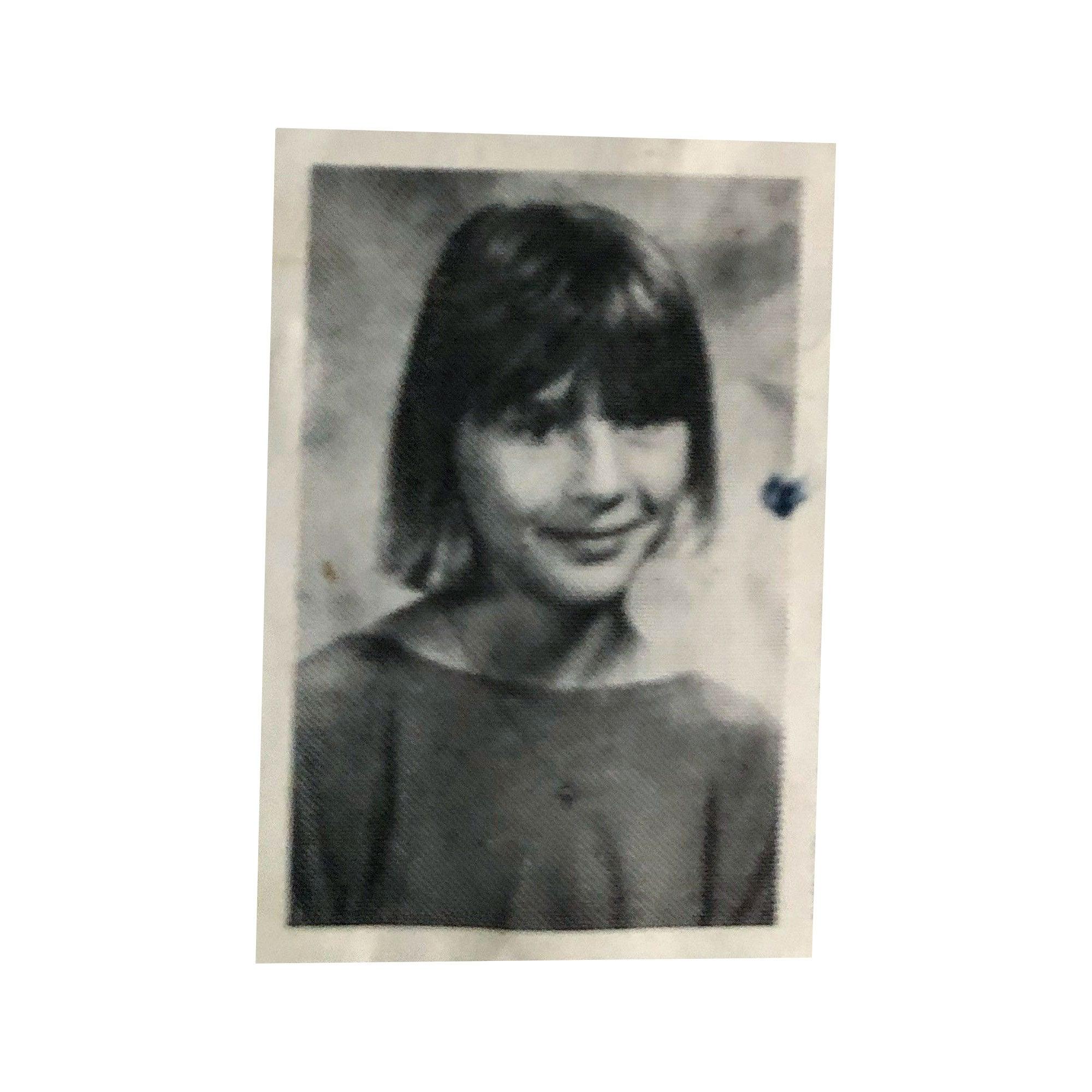 Eve Peyton as a child