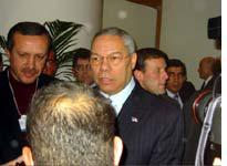 Colin Powell, stirred but not shaken