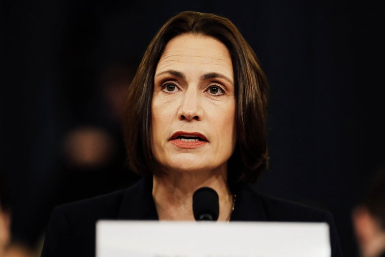 Fiona Hill Took the Intelligence Committee to School