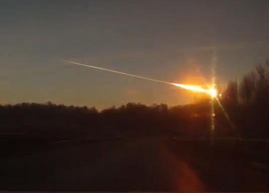 another shot of the meteor