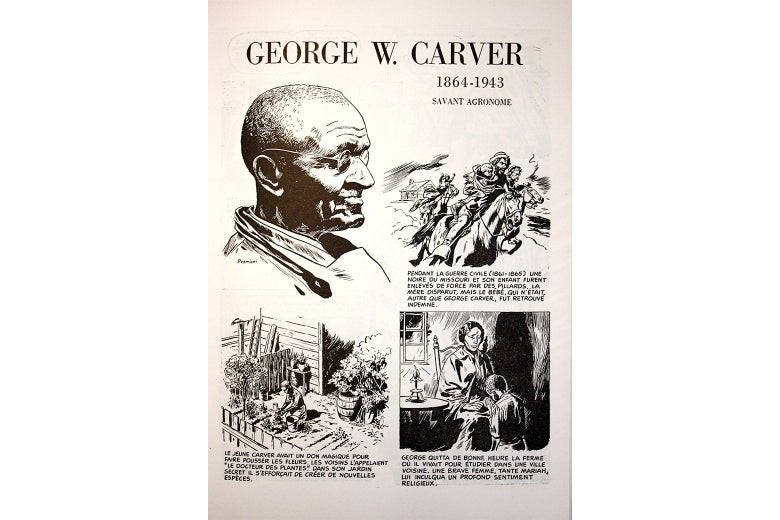A page about George W. Carver.