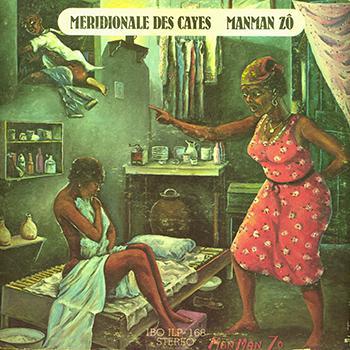 LP cover of Ensemble Meridional des Cayes. 1972.