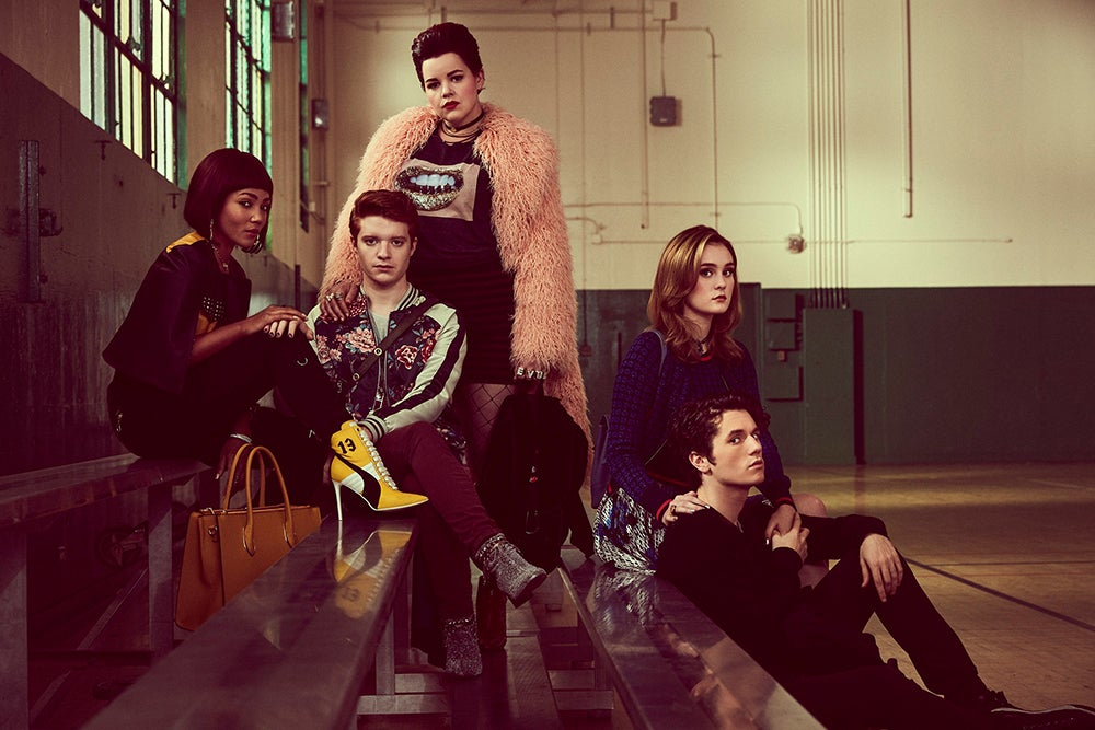 The cast of Heathers