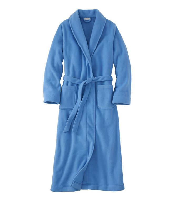 L.L.Bean Women's Winter Fleece Robe