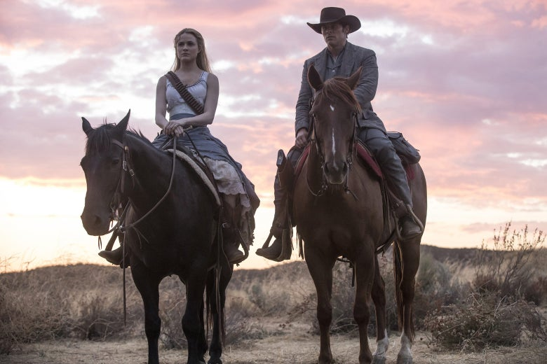 A still from Westworld.
