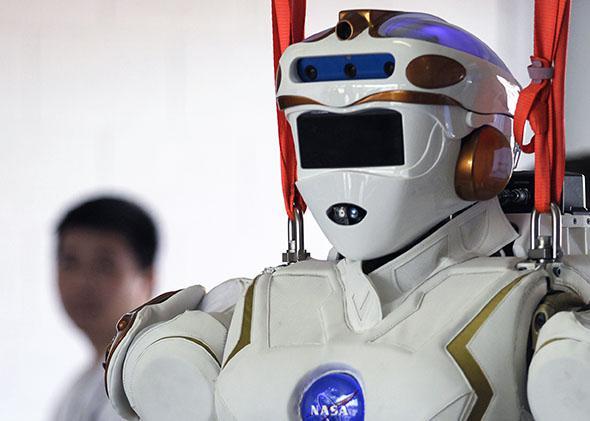 USA-FLORIDA/ROBOTS