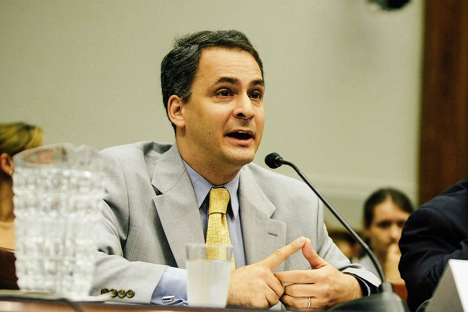 Benjamin Wittes speaks during a House Judiciary Committee hearing.