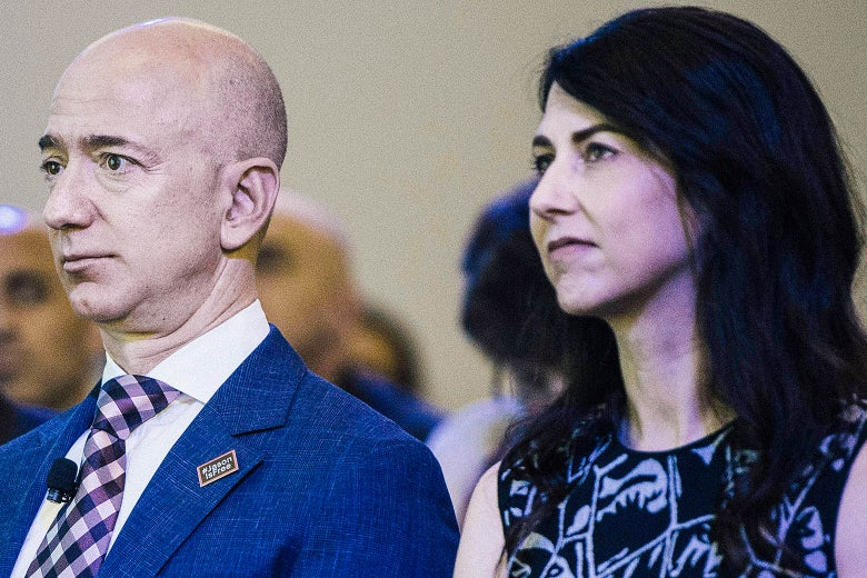 MacKenzie Bezos Is Legally Entitled to Half of the $140 Billion Amazon Fortune