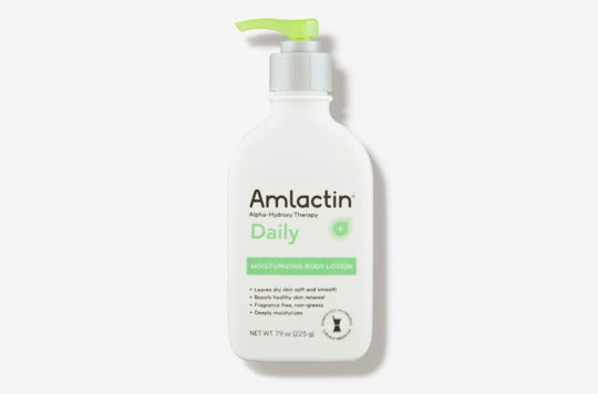 AmLactin Daily Moisturizing Lotion.