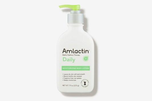 AmLactin Daily Moisturizing Lotion.