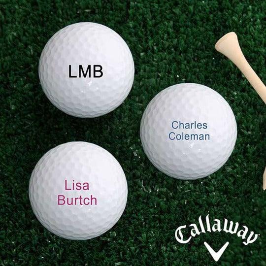 Callaway HEX Diablo Personalized Golf Balls.