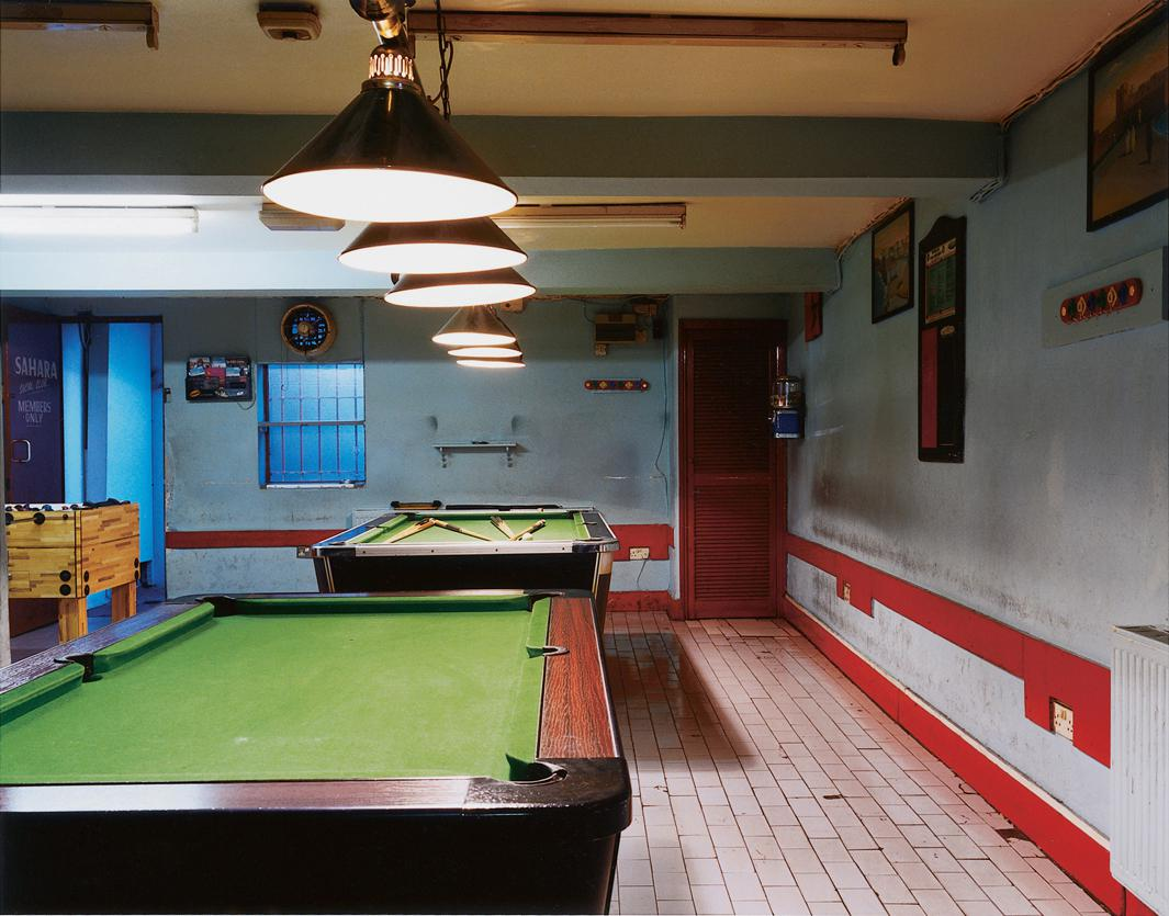 Sahara Socail Club, London, England, 2004.