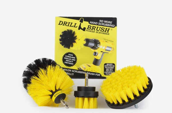 Drillbrush Bathroom Surfaces Cleaning Kit.