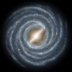 Illustration of the Milky Way Galaxy