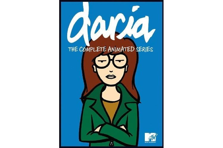 Daria complete animated series cover