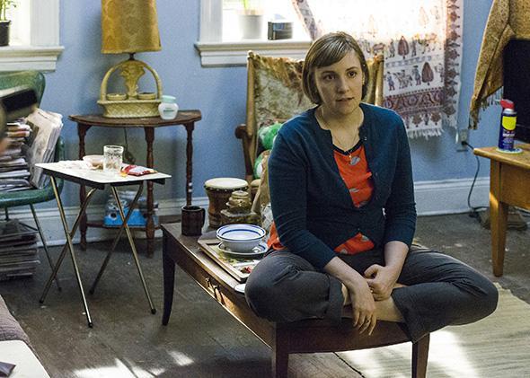 Lena Dunham in season 4, episode 10 of Girls.