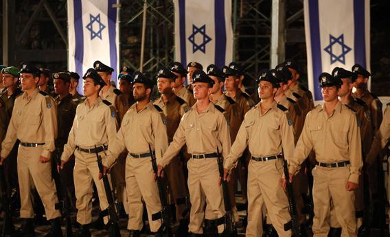 Young Israeli Soldiers.