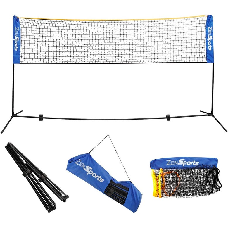 Badminton net set