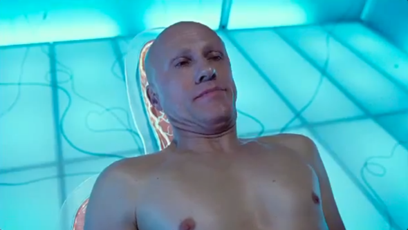 Christoph Waltz in the trailer for Zero Theorem.