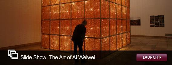 Click here to launch a slide show on the art of Ai Weiwei.